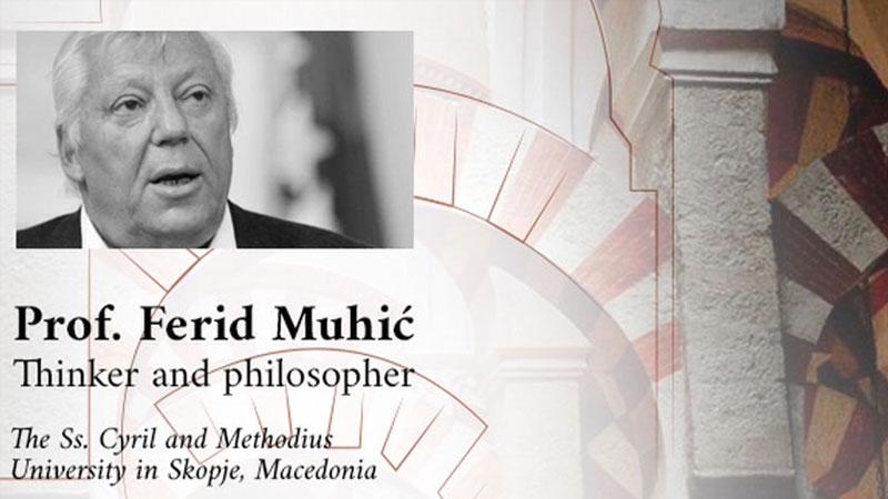 Professor Ferid Muhic im MFI