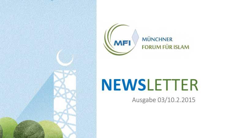 MFI Newsletter vom 10.02.2015