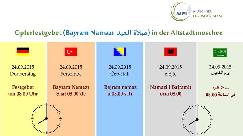Opferfest / Kurban Bayram / Eid Al Adha 2015