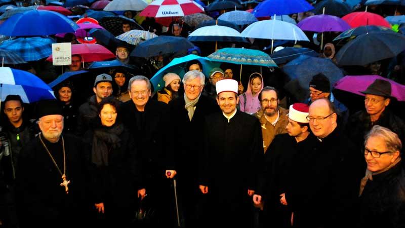 Demo Steh auf gegen Hass und Gewalt