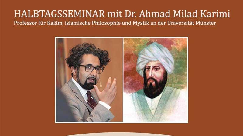 Halbtagsseminar mit Dr. Ahmad Milad Karimi