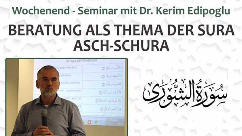 Beratung als Thema der Sura Asch-Schura