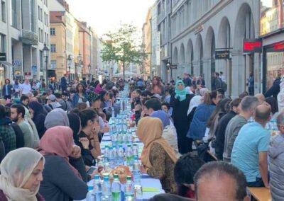 Iftar in der Innenstadt München 2019