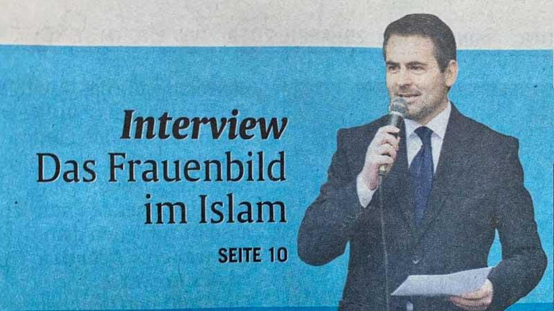 Das Frauenbild in Islam – Interview für die Abendzeitung