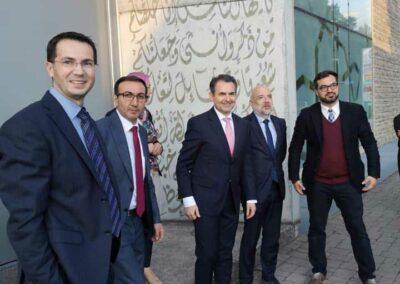 Staatssekretär Dr. Kerber besucht Moschee in Penzberg 2019