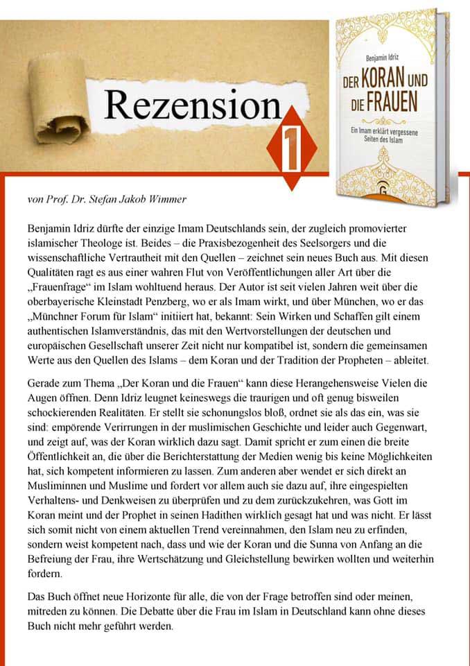 Rezension 1: Der Koran und die Frauen