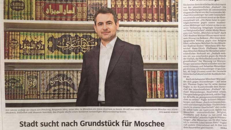 Stadt sucht nach Grundstück für Moschee