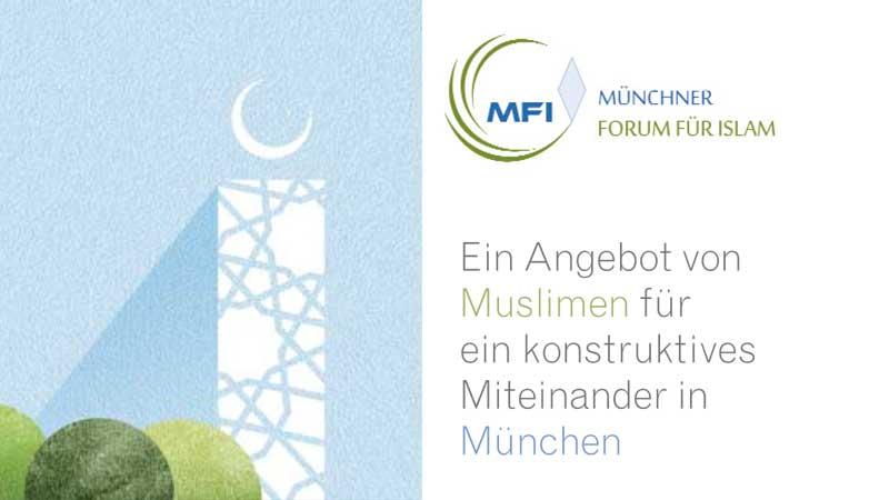 """Broschüre: Das Projekt """"Münchner Forum für Islam"""""""