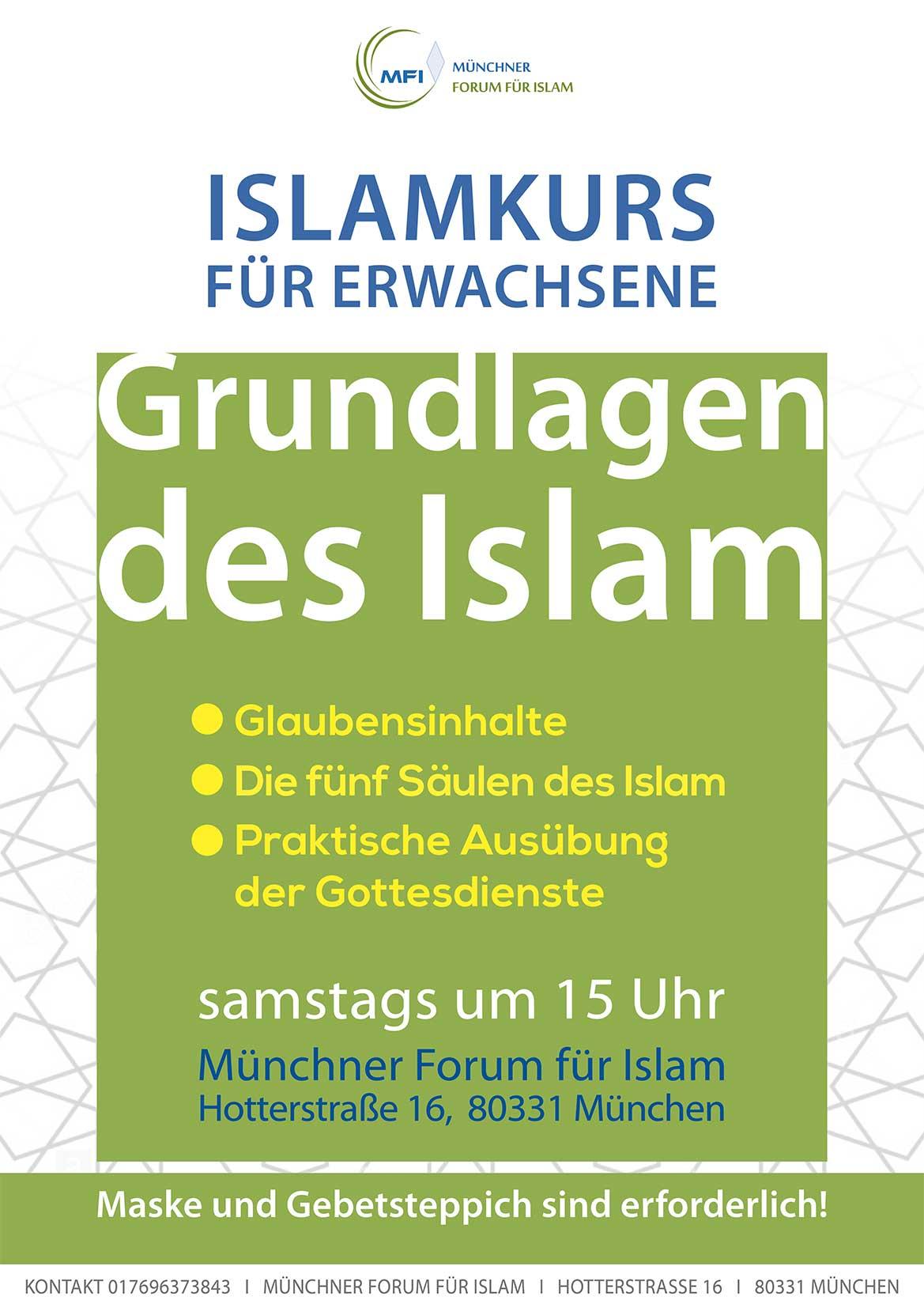MFI: Islamkurs für Erwachsene 2020