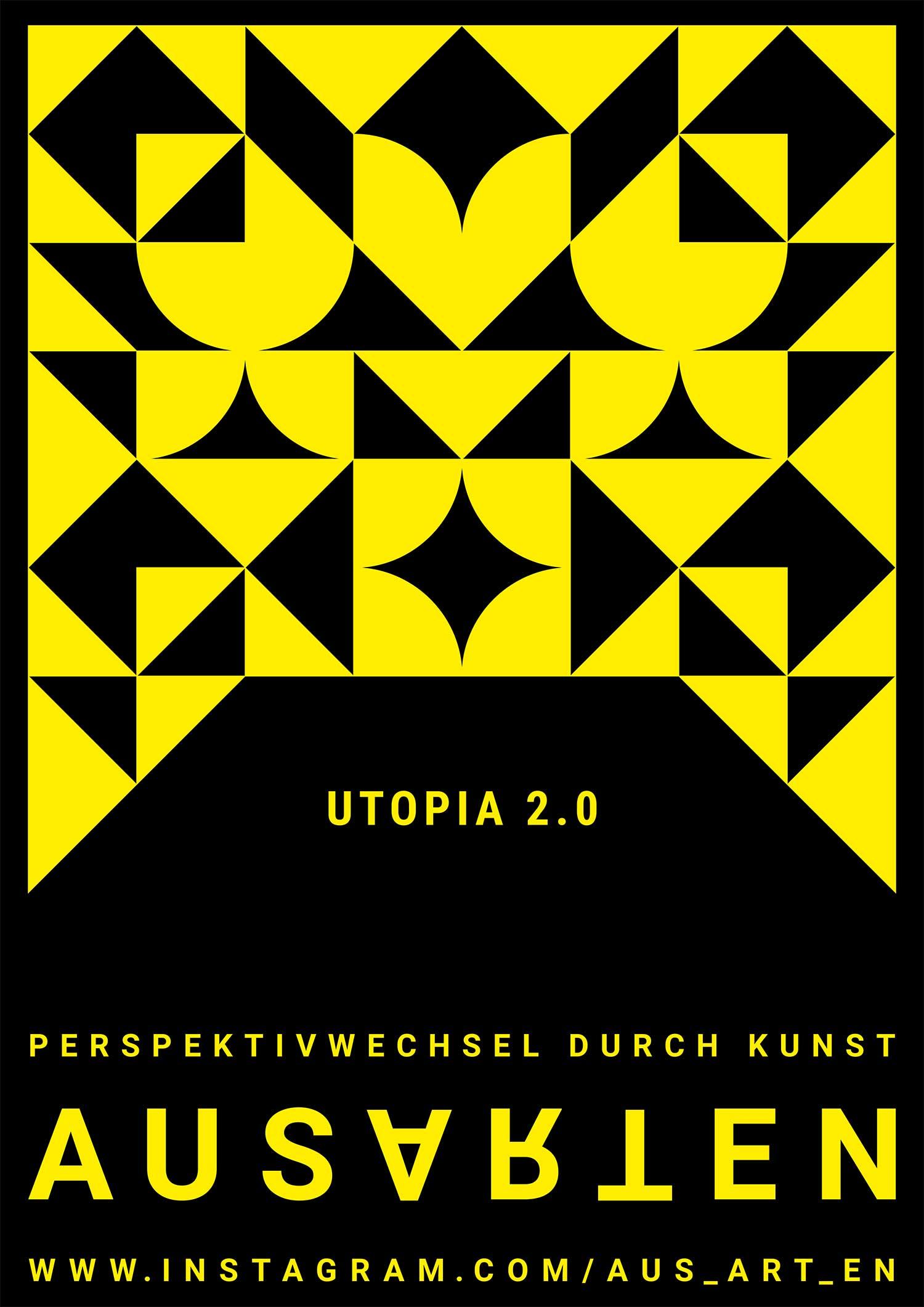 ausARTen Flyer 2020: Utopia 2.0